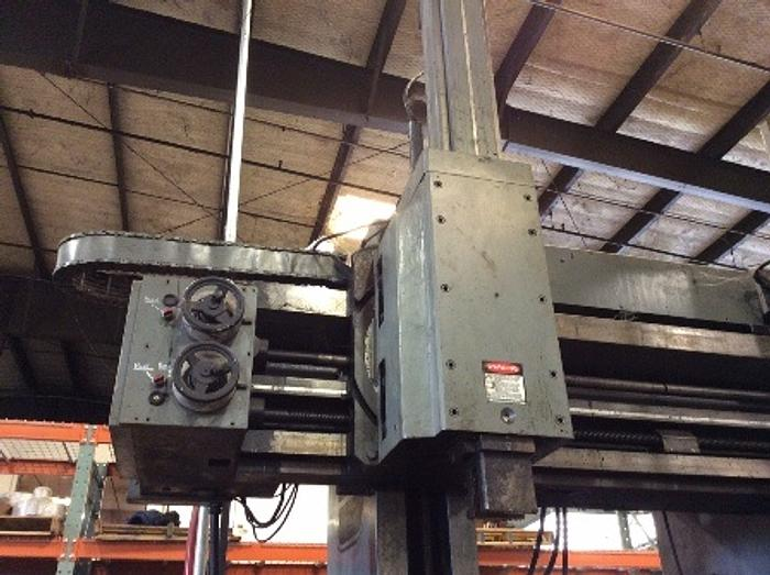 "59"" SUMMIT VBM, 59"" 4 Jaw Chuck, 70"" Swing, 47""UR, Ram, Turret & Side Heads,1976"