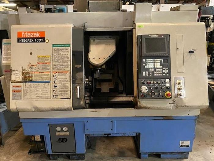 Used MAZAK INTEGREX 100Y MULTI AXIS CNC LATHE