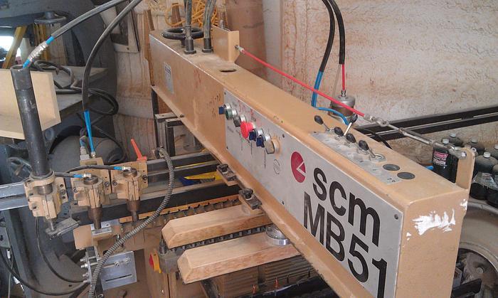 SCM Model MB51 Multispindle Boring Machine