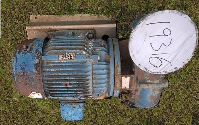 Used Aurora 25HP Water Pump; Md#341A-A1