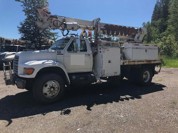 Used 1998 Ford F750 , Terex Digger Boom
