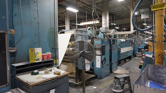 """Used 1994 Timson T32 One Color Web Offset Press - 47"""" Circumference x 53"""" width"""