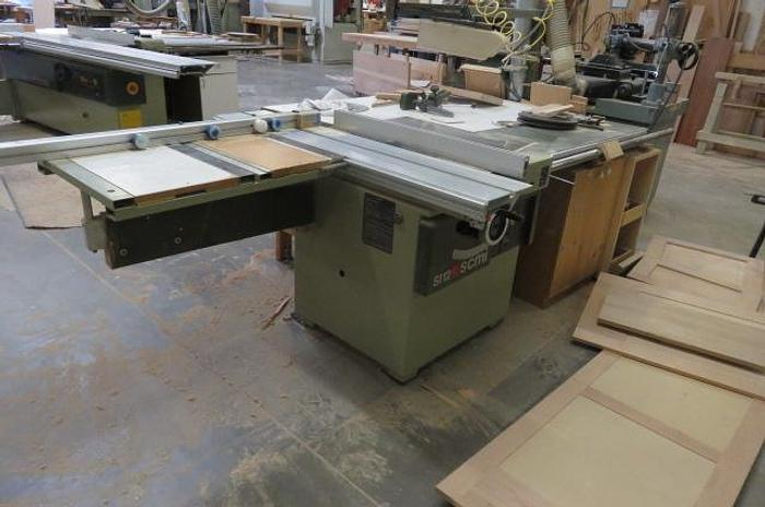 Used SCM Model SI 12 Sliding Table Saw