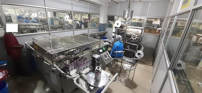 (2) Constanta Teabag Machines