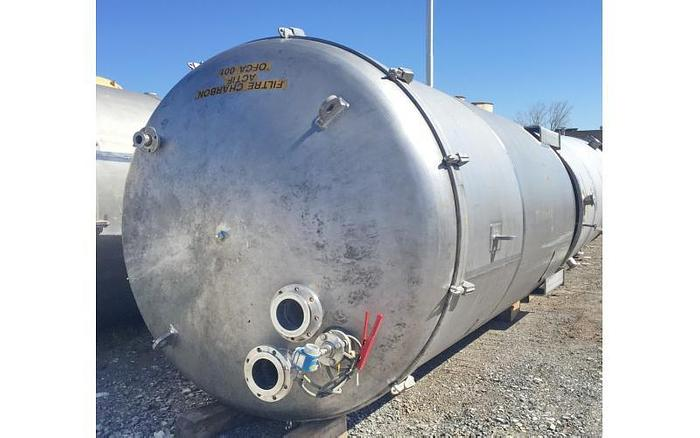 USED 4325 GALLON TANK, STAINLESS STEEL