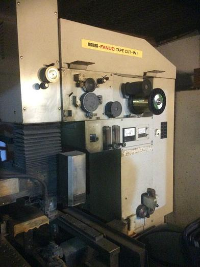Used 1989 Matra Fanuc Tape Cut-W1 Wire EDM Machine