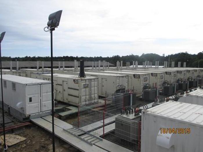 1.82 MW 2012 Used Caterpillar XQ2000 Diesel Generator Sets