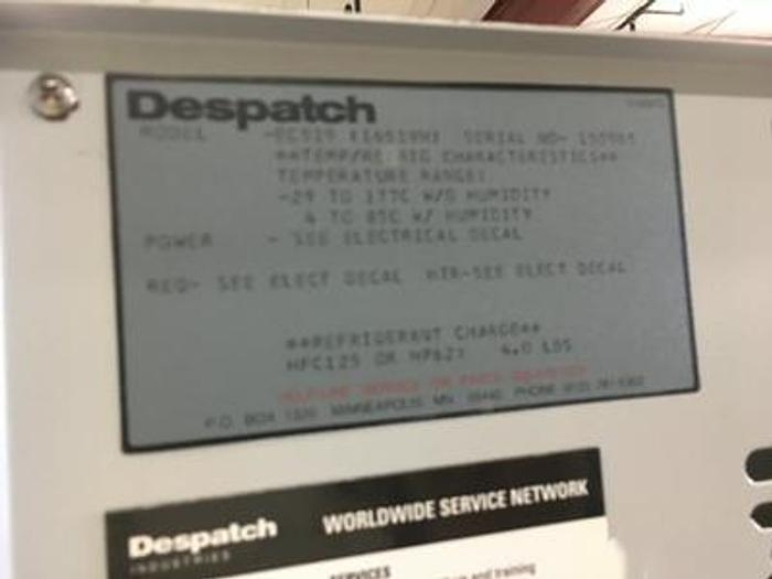 Used Despatch Ecosphere  EC519 Temperature Humdity Chamber Watlow F4 -29 to 177C