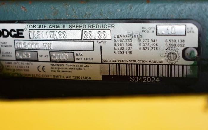 "USED SCREW CONVEYOR, 9"" DIAMETER X 72'' LONG, CARBON STEEL WITH FEED HOPPER"
