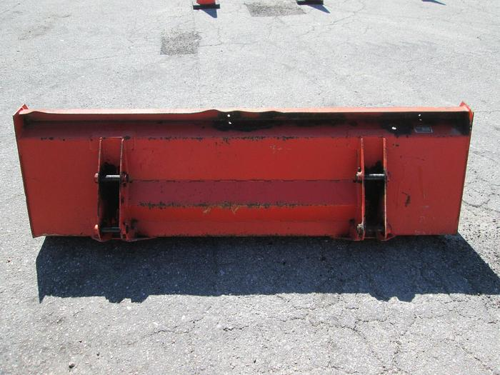 Kubota front end loader bucket 6' wide
