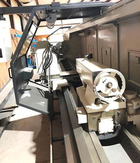2002 HWACHEON MEGA 95 2-AXIS CNC FLAT BED LATHE