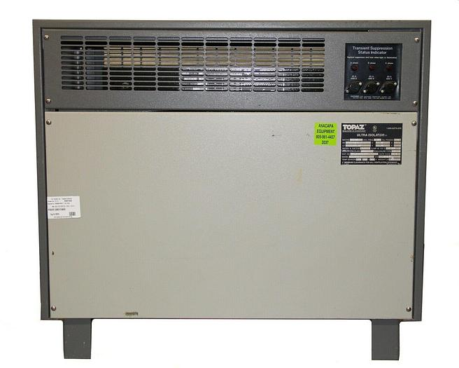 Used Square D MGE Topaz 97203-31 Ultra Isolator, 30 kVA Isolation Transformer (2037)