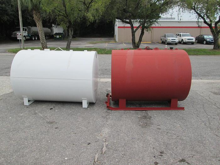 New 500 Gallon Double Wall Diesel Or Gas Tank,UL Labled