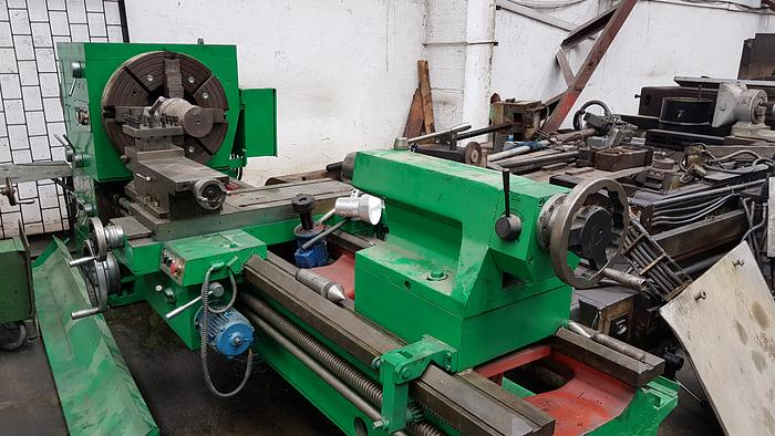 "1985 Hollow Spindle Oil Country Lathe SARO SBF 10 3/8 ""710X2000"