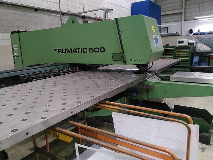 Gebraucht CNC Nibbelmaschine Trumpf Trumatic 500