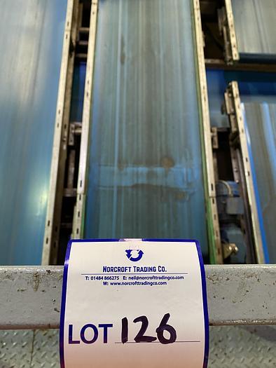 Used Stainless Steel Conveyor Belt 4m L 0.85m W