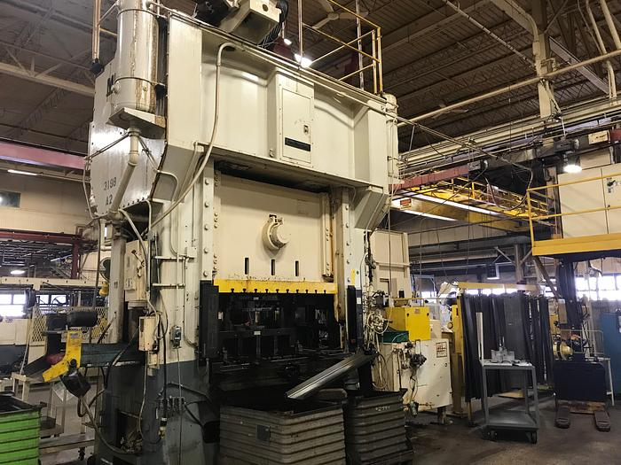 Used 400 TON MINSTER SSDC PRESS