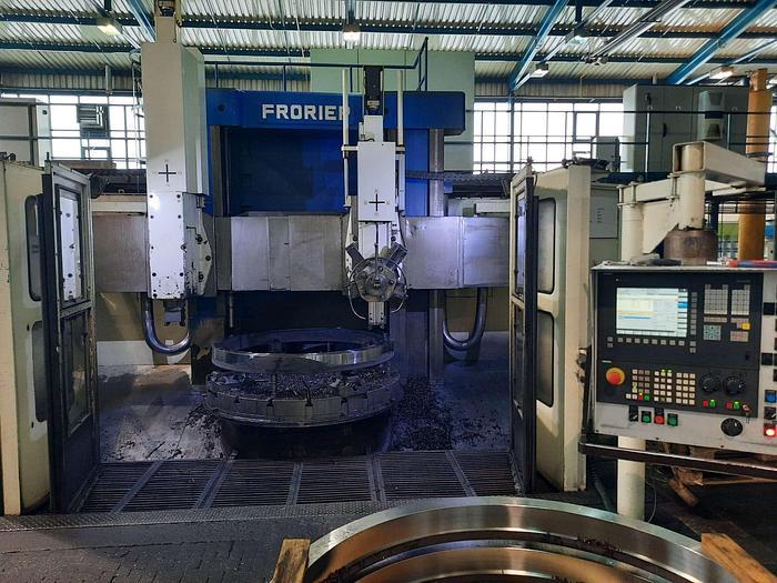 Used Tokarka karuzelowa CNC FRORIEP 6KZ 200