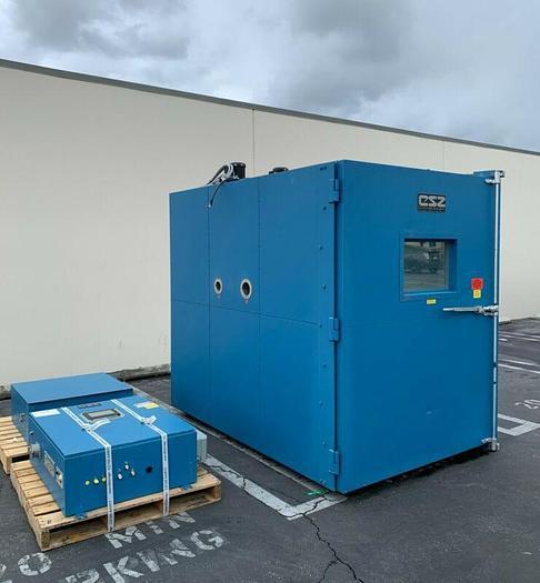 Used Cincinnati Sub-Zero WW-124-LN2 Walk-In Environmental Test Chamber -100F to +480F