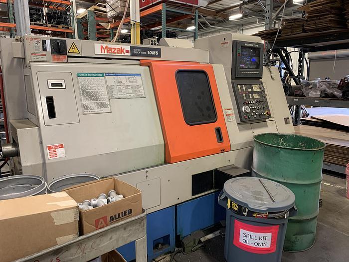 Used 1993 Mazak SQT-10MS CNC Turning Center