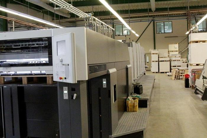 Used Heidelberg CD 102-5 - LX,  SOLD TO SPAIN