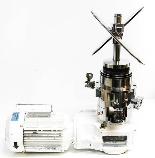 Used FlowServe GVC415528XB-Q1 Sew EuroDrive DFT80N4TH 1 Hp Laboratory Mixer  (5733) c