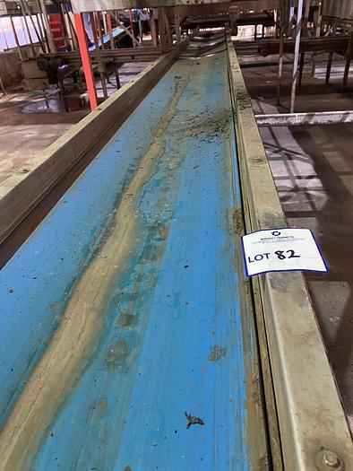 Used Steel Conveyor belt 12m L 0.55m W