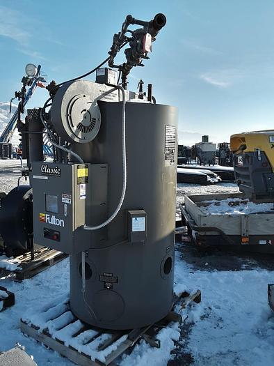 2016 Fulton Boiler Steam Boiler 20 HP 150-300 PSI  ICS 20