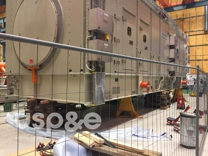 56 MW New Siemens SGT 800 Gas Turbine