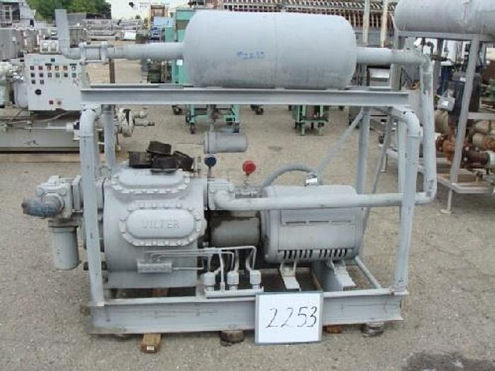 Used Vilter 50 Hp Freon Compressor