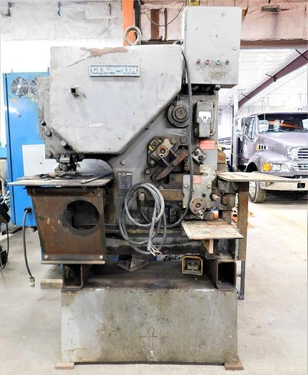 Used Geka 50 Ton Mechanical Ironworker CEP/11H