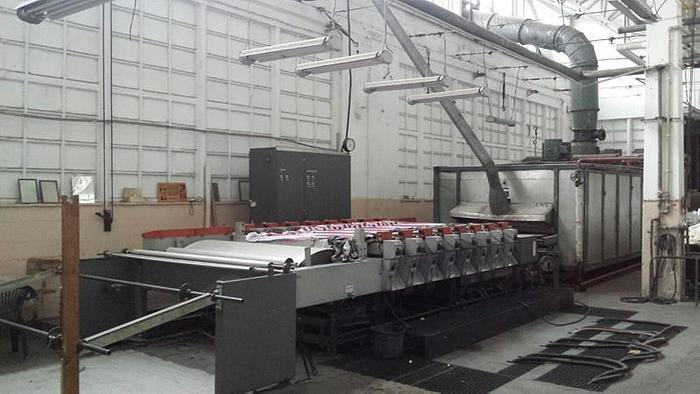 Used STORK RDIV Rotary Printing machine  1989  1650 mm