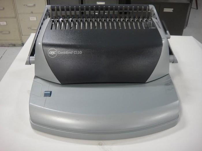 Used GBC CombBind C110