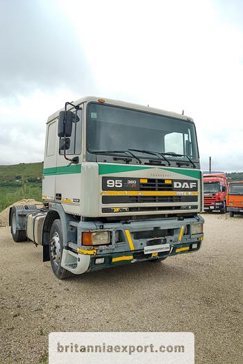 Used 1995 DAF 95 360 ATI tractor unit