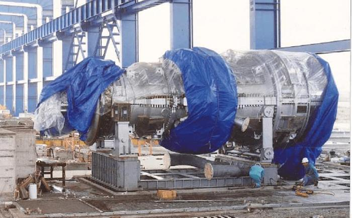 120 MW 1992 Used Fiat Avio TG50D5 Gas Turbine Generator Set