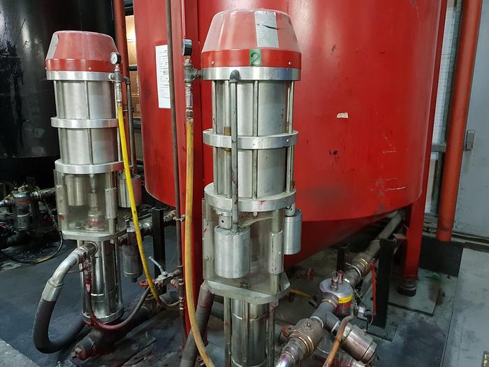 Used 2005 HYDRAIR 1700 Pneumatic Pump