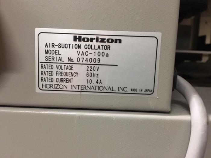 2001 Standard Horizon VAC 100 Booklet Maker #