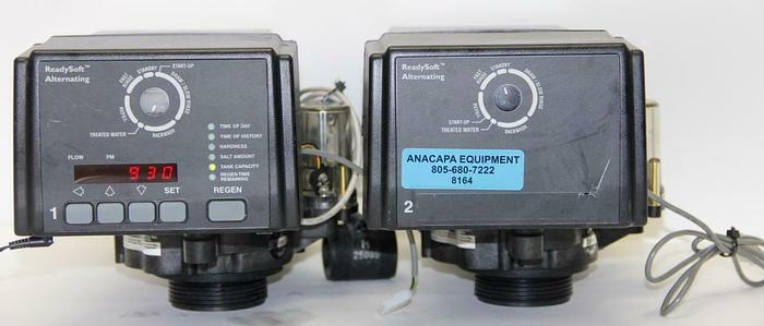 Used GE 255/964 Readysoft Alternating Water Conditioning Control Lot of 2 (8164)W