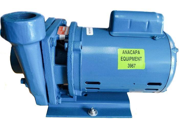 Burks Crane G5 Centrifugal Pump 5G5-1-1/4 & Weg Motor 0.5 HP 115-230V NEW (3967)