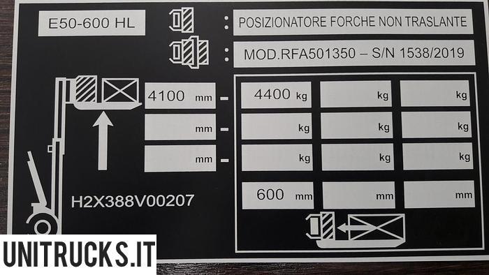 Usata 2019 LINDE E50HL-01-600