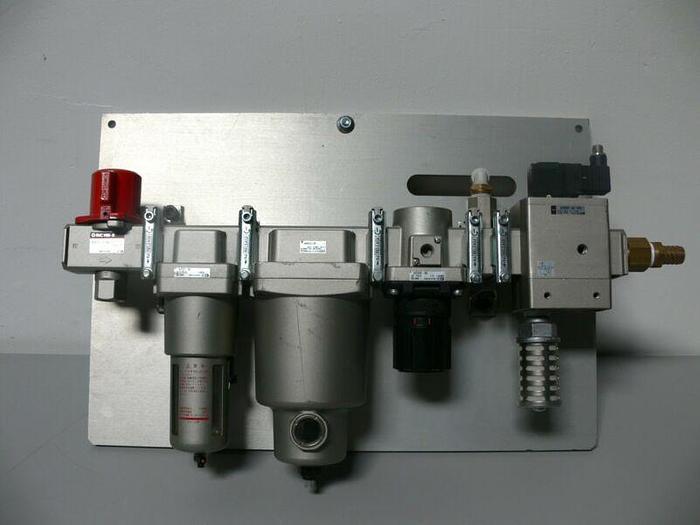 Used SMC Pressure Filter System VHS50-06 AF50-06 AR50K-06 AM550C-06 AV5000-06-5DZ