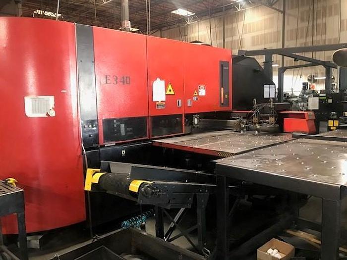 Used 1999 33 Ton Amada Apelio III 367V CNC Punch/Laser Machine