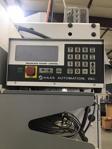 2012 Haas 320 Rotary Table with Control Box