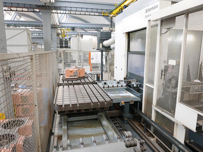 CNC-Bearbeitungszentrum Dörries / Scharmann Typ Solon 4
