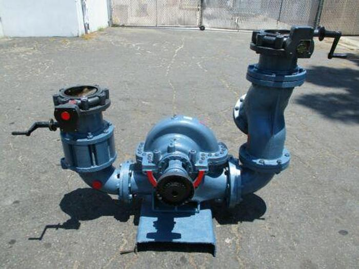 Used PACO / GRUNDFOS 8 INCH 1550 GPM WATER PUMP WITH EXPENSIVE VALVES AND TRAPS
