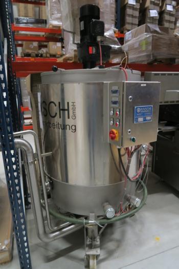Rinsch 500kg chocolate tank