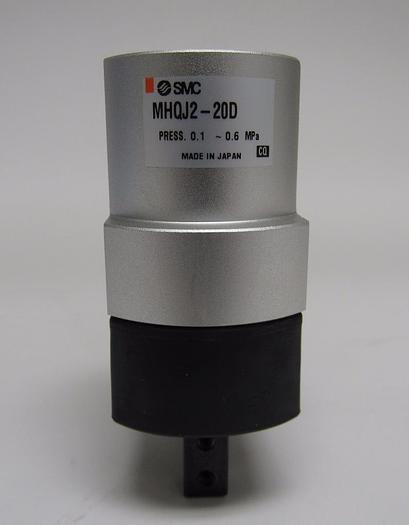 Used SMC MHQJ2-20D Pneumatic Double Acting Gripper (3942)