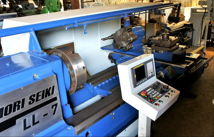 MORI SEIKI LL7 CNC OIL COUNTRY LATHE MACHINE (REBUILT)