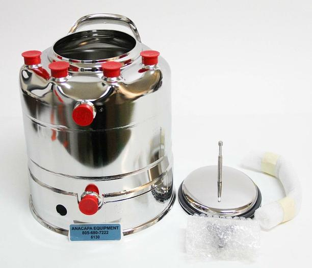 Alloy Products C530-4596-00 Stainless Steel 2-Gallon Pressure Vessel NEW 6130