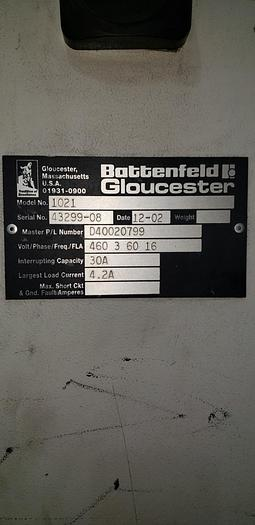 """Used Gloucester Engineering Co. Model 1021 Surface winder 54"""""""